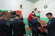 Petugas Rutan 1 Medan Geledah Kamar Warga Binaan