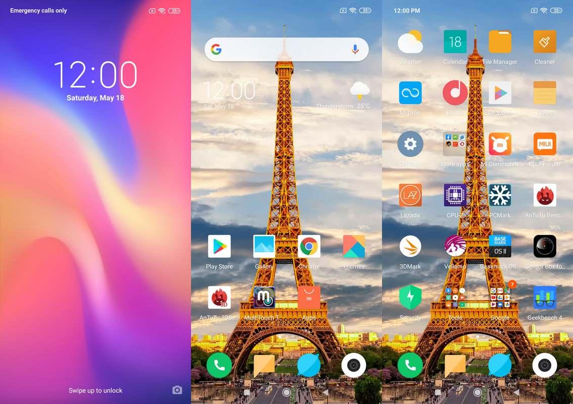 Software & Fitur Xiaomi Mi Play