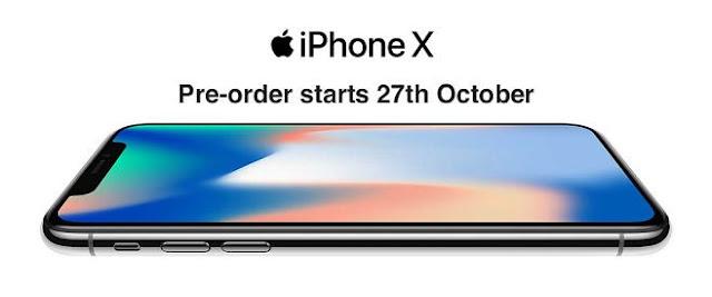 iPhone X Pre-orders