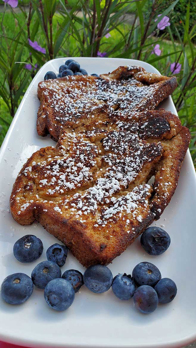 this is a french toast copycat from the Denny's restaurant recipe