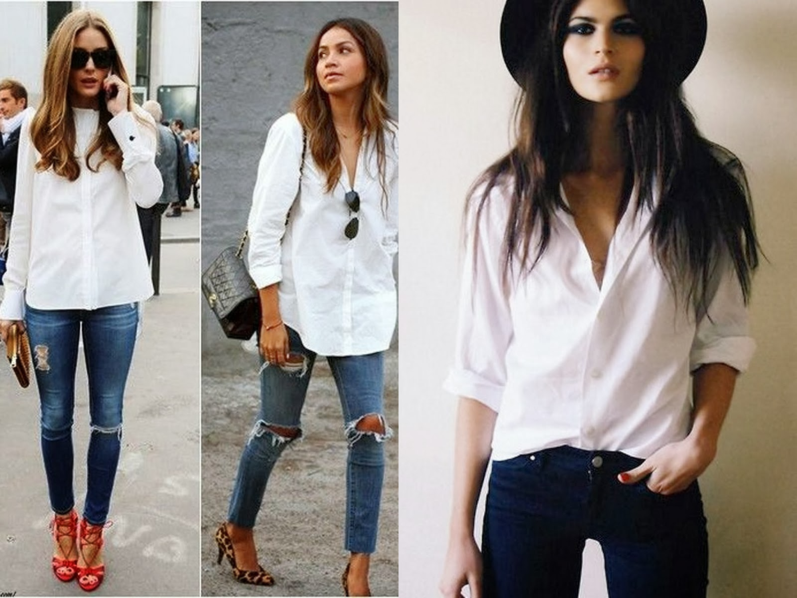 outfit basic white shirt