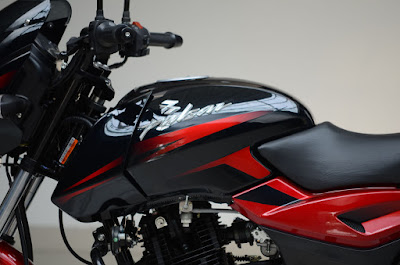 New Bajaj Pulsar 150 fuel tank