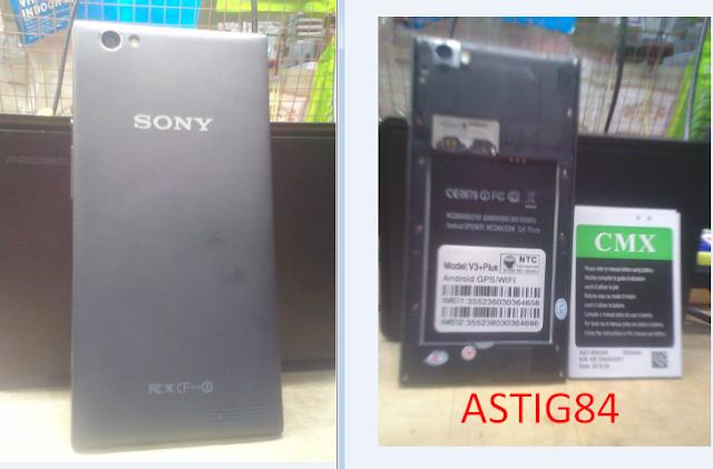 حصريآ : فلاشة الهاتف العنيد SONY V3+PLUS MT6572