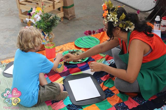 Oficina de Arte Ambiental, Kyrla, Dedo Verde, Programa Agrotour, Mamãe Sortuda