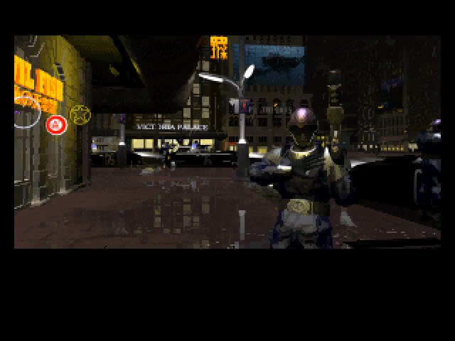 Screenshot from Syndicate Wars intro
