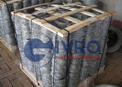 Jual Kawat Duri Hotdip Galvanis & Electroplating