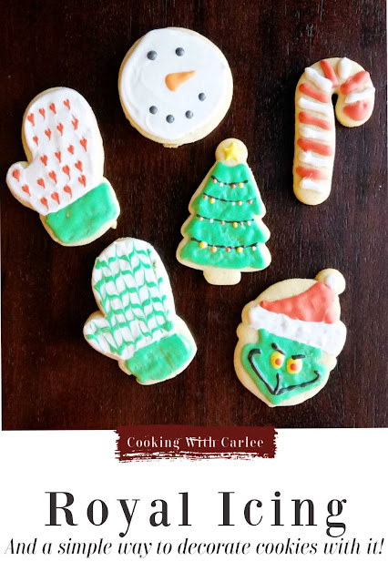 Royal icing is perfect for detailed decorations and fun cookies. It is simple to make and versatile. I am also sharing my favorite shortcut method for using it to decorate cookies quickly!