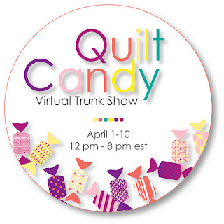 Quilt Candy Virtual trunk show on Facebook Live