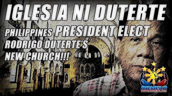 Iglesia Ni Duterte ★ Philippines President Elect Rodrigo Duterte's New Church