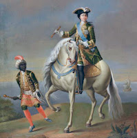Portrait équestre de Catherine I