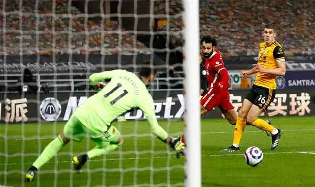 Klopp doubts the correctness of the decision to cancel Mohamed Salah's goal against Wolverhampton