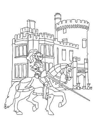 castle coloring pages   Disney Princess Castle Coloring Pages To Kids