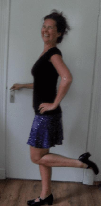 sparkle tech skirt