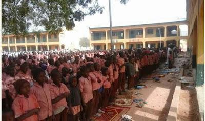 Daura pupils pray for Buhari's reccovery