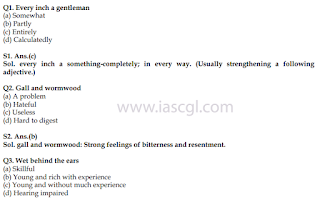 100 Important Idiom/Phrase for Ongoing SSC Exam