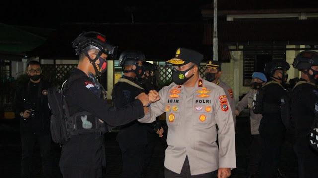 1 Kompi Pasukan Brimob Diterjunkan Terkait Pengamanan PON XX Papua
