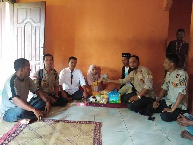 GEMANTARA ACUT MENGANTARKAN DONASI DARI PERKUMPULAN MASYARAKAT ACEH DI PENANG MALAYSIA UNTUK ASMAUL HUSNA