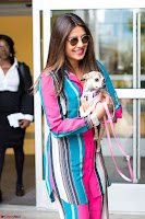 Priyanka Chopra in Colorful Jumpsuit arriving at JFK Airport New York 18 June 2017 ~  Exclusive 030.jpg