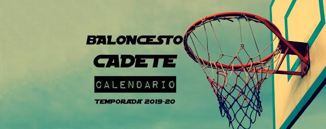BALONCETO CADETE: Disponible Calendario Temporada 2019-20