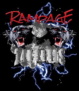 THE RAMPAGE と 24karts のコラボ再現ロゴ フルカラー