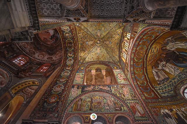 Ravenna mosaici san vitale