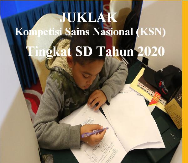 Download Petunjuk Pelaksanaan KSN Jenjang SD Tahun 2020