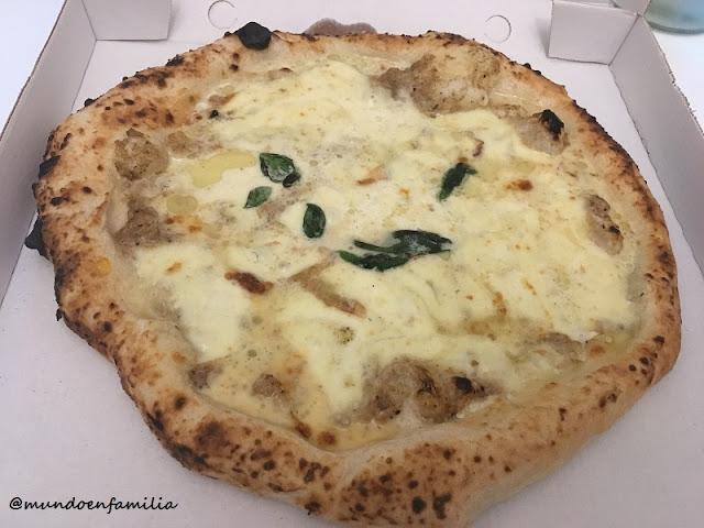 Pizza Tartufo e formaggio