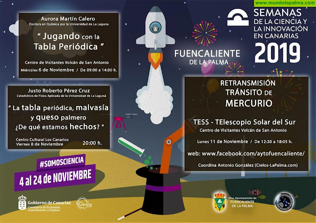 Fuencaliente se suma a las actividades de la Semana de la Ciencia fomentando la cultura innovadora