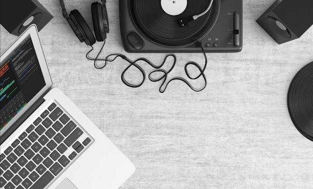 Record sound way