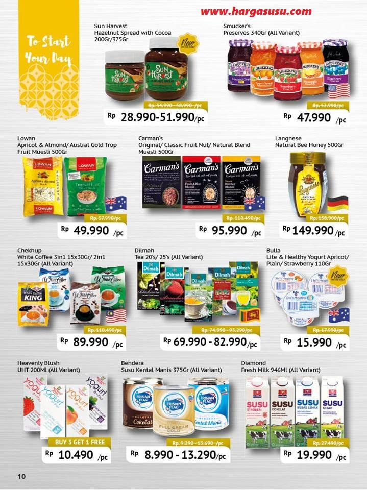 Promo Harga Susu Di Hero Supermarket 13 - 26 Januari 2017