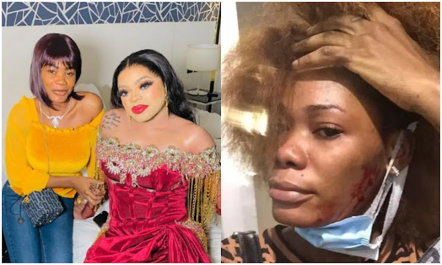 Bobrisky sleeps with lagos men for Money- Ivorian Lady Oye Kyme continues to Insult bobrisky