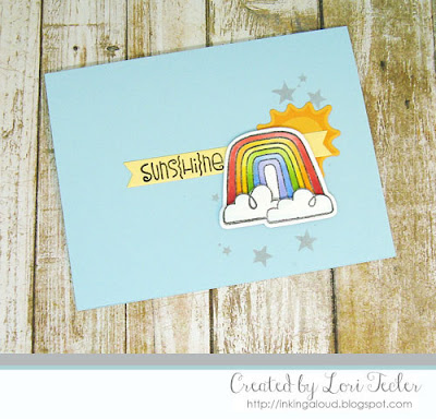 Suns{hi}ne card-designed by Lori Tecler/Inking Aloud-stamps and dies from Paper Smooches