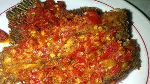 Resep Ikan Balado pedas yang sangat enak