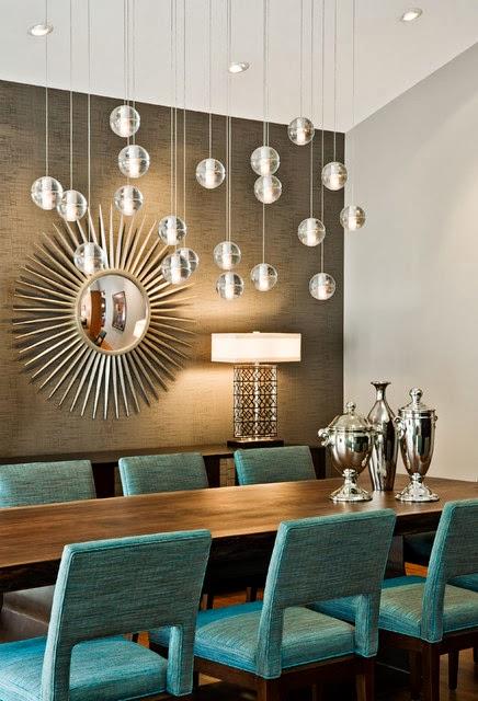 Comedores con espejos - Colores en Casa
