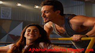 O Saathi Sargam Piano Notes from Baaghi 2