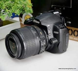 Jual Kamera Dslr bekas nikon D3000 - Banyuwangi
