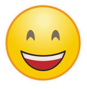 Emoticon Laughing (Tertawa)