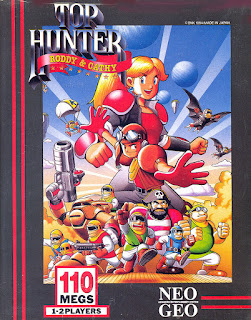 neo geo snk top hunter