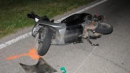 Un tânăr din Ciupercenii Noi,a baut,s-a urcat pe moped şi a căzut în afara părţii carosabile