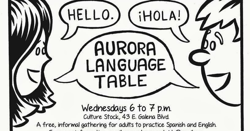 Free Things To Do in Aurora, IL: Aurora Language Table on