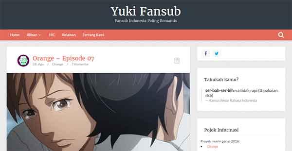 Daftar Fansub Indonesia