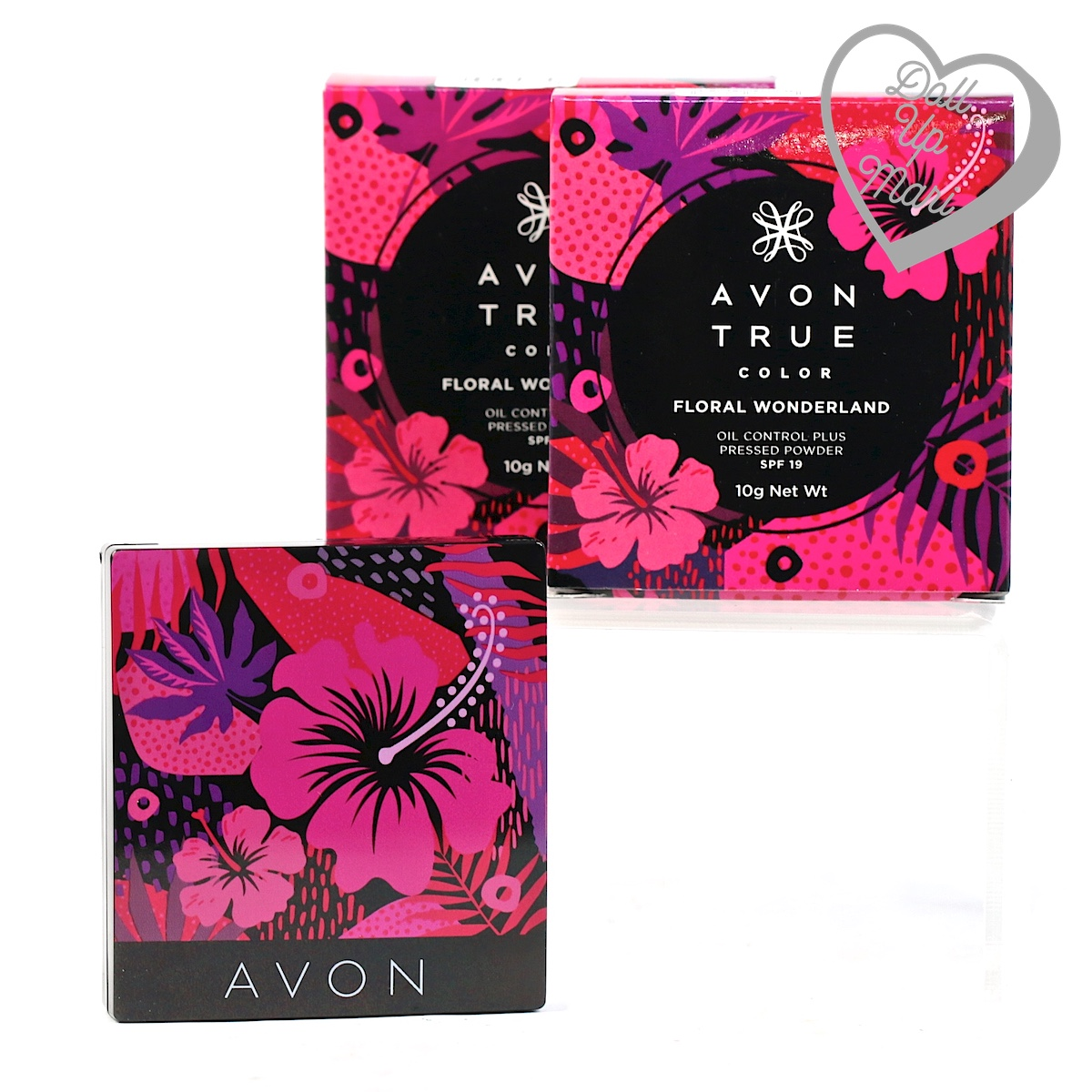 AVON Floral Wonderland Oil Control Plus Pressed Powder Pack Shot