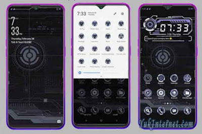 download tema oppo dark ux