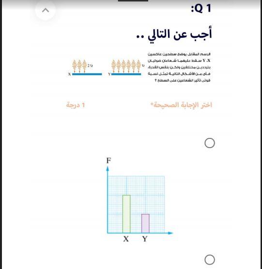 النموذج الاسترشادى الثالث فى الفيزياء من منصة حصص مصر للصف الثالث الثانوى 2021