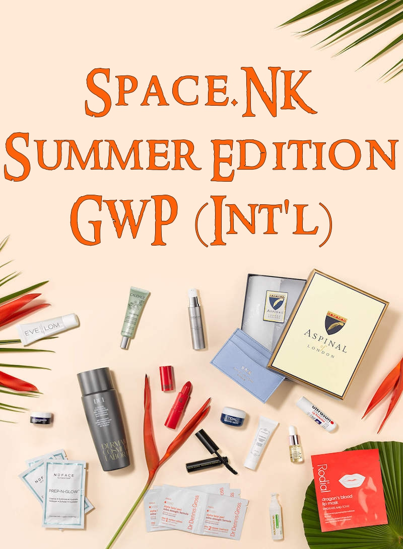 Space.NK 2017 Summer Edition Gift With Purchase Available Worldwide