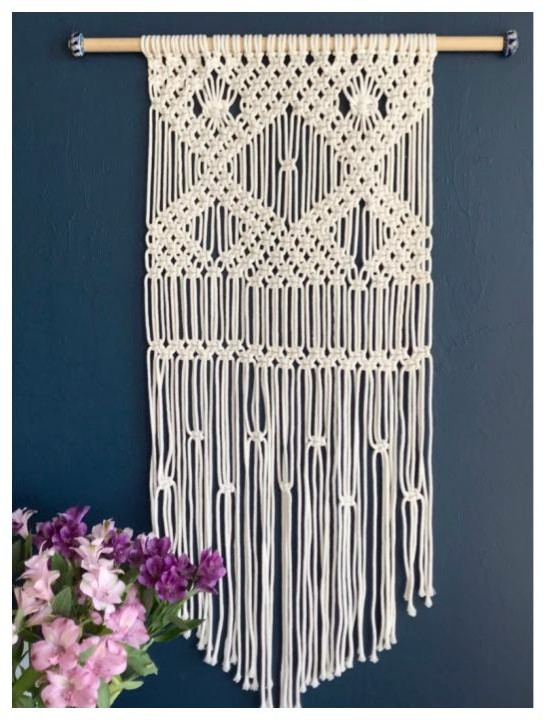 Learn how to macrame and find patterns for weaving