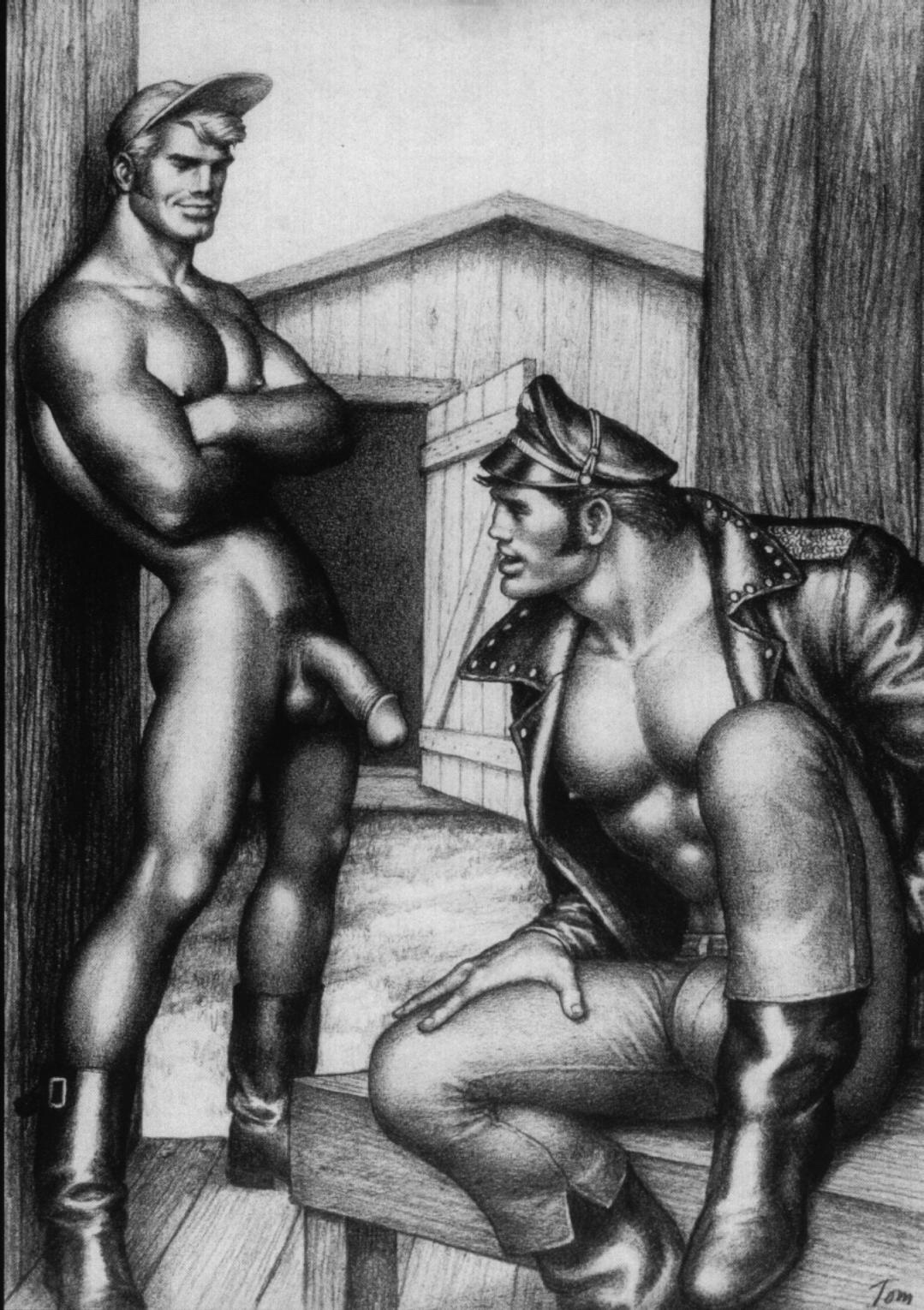Works of the iconic artist tom of finland exhibited in japan for the first time