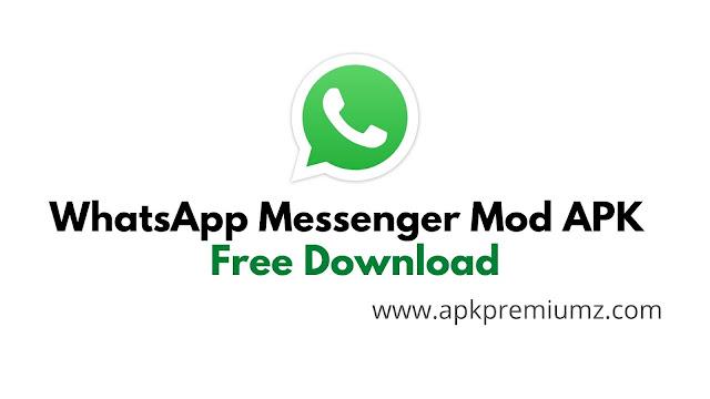 whatsapp messenger mod apk free download