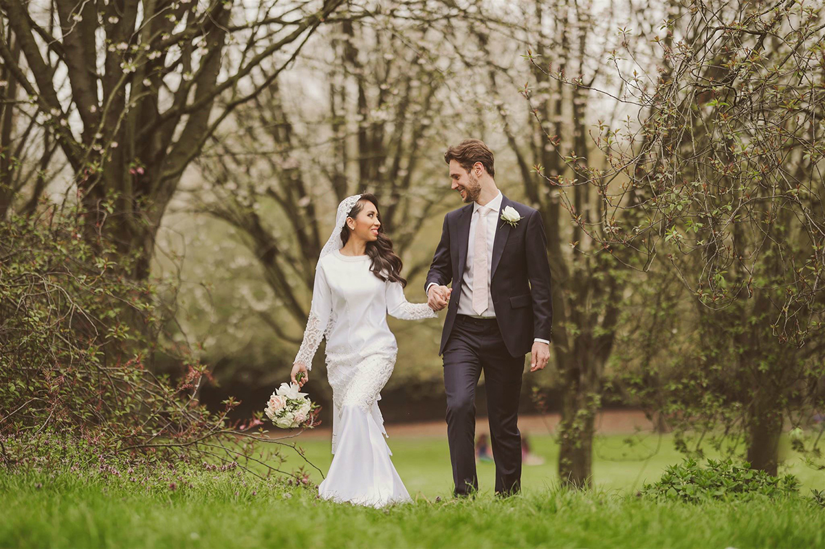 Pernikahan Dr Amalina Bakri dan Alexander Charles