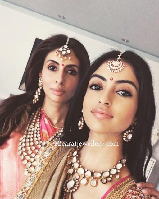 Swetha Bachhan in Polki Choker